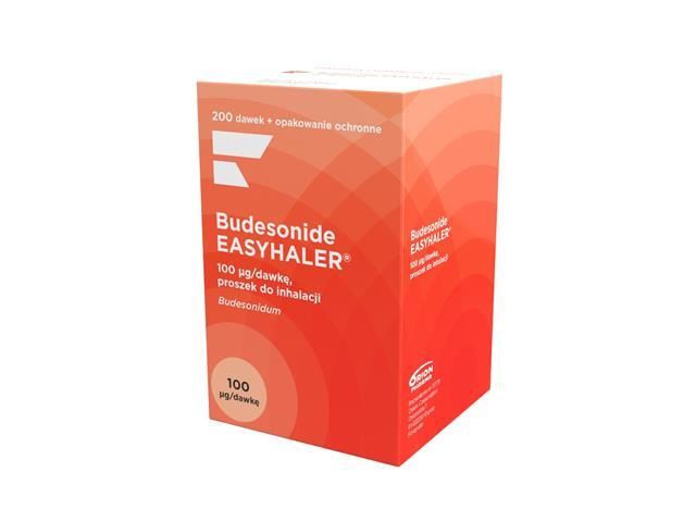 Budesonide Easyhaler interakcje ulotka proszek do inhalacji 0,1 mg/daw. 1 inhal. po 200 daw.