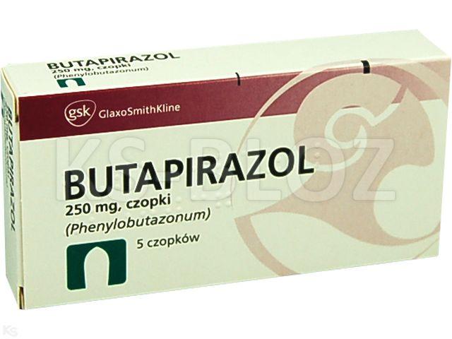 Butapirazol interakcje ulotka czopki doodbytnicze 0,25 g 5 czop.