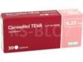 Carvedilolum 123ratio interakcje ulotka tabletki 6,25 mg 30 tabl.