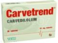Carvetrend interakcje ulotka tabletki 0,025 g 30 tabl.