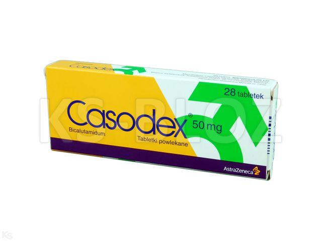 Casodex interakcje ulotka tabletki powlekane 0,05 g 28 tabl. | blister