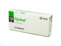 Ciprinol interakcje ulotka tabletki powlekane 0,25 g 10 tabl.