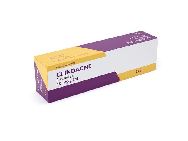Clindacne interakcje ulotka żel 0,01 g/g 15 g