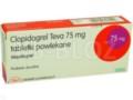 Clopidogrel Teva interakcje ulotka tabletki powlekane 0,075 g 28 tabl.