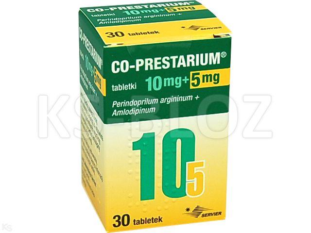 Co-Prestarium interakcje ulotka tabletki 0,01g+5mg 30 tabl.