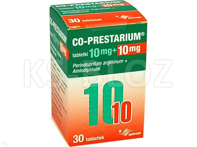 Co-Prestarium interakcje ulotka tabletki 0,01g+0,01g 30 tabl.