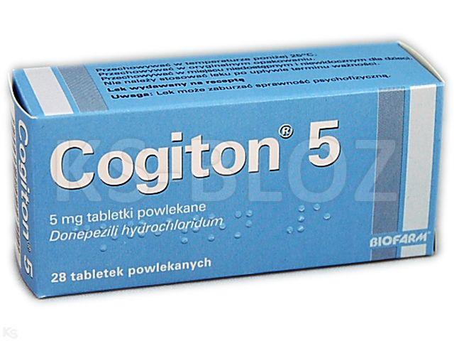 Cogiton 5 interakcje ulotka tabletki powlekane 5 mg 28 tabl.