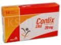 Contix ZRD interakcje ulotka tabletki dojelitowe 0,02 g 14 tabl.