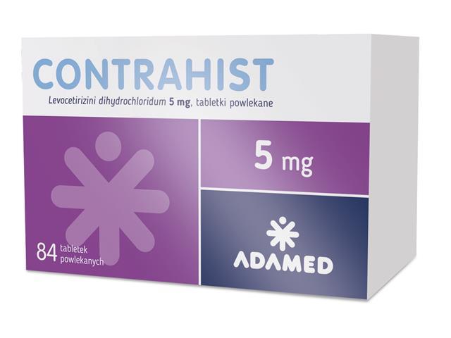 Contrahist interakcje ulotka tabletki powlekane 5 mg 84 tabl.
