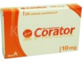 Corator interakcje ulotka tabletki powlekane 0,01 g 30 tabl.