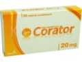 Corator interakcje ulotka tabletki powlekane 0,02 g 30 tabl.