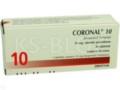 Coronal 10 interakcje ulotka tabletki powlekane 0,01 g 30 tabl.