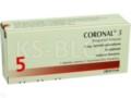 Coronal 5 interakcje ulotka tabletki powlekane 5 mg 30 tabl.