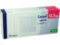 Coryol 12,5 interakcje ulotka tabletki 0,0125 g 30 tabl.