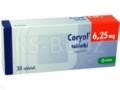 Coryol interakcje ulotka tabletki 6,25 mg 30 tabl.