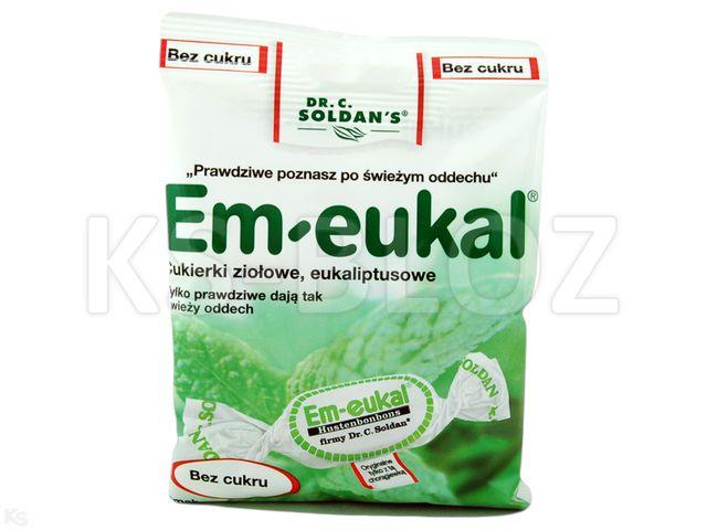 Cuk. EM-EUKAL eukal.-zioł. interakcje ulotka   50 g