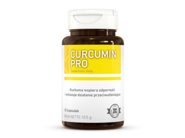 Curcumin Pro interakcje ulotka kapsułki  30 kaps.
