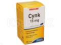 Cynk interakcje ulotka tabletki 0,015 g 100 tabl.