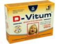 D-Vitum Witamina D dla niemowląt 36 kaps + 6 kaps gratis interakcje ulotka kapsułki twist-off 400 j.m. 42 kaps.