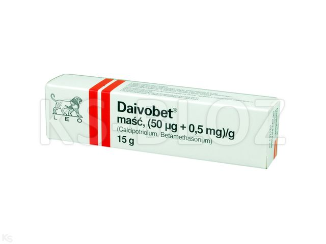 Daivobet interakcje ulotka maść (0,05mg+0,5mg)/g 15 g