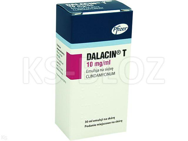 Dalacin T interakcje ulotka emulsja na skórę 0,01 g/ml 30 ml
