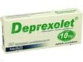 Deprexolet interakcje ulotka tabletki powlekane 0,01 g 30 tabl.