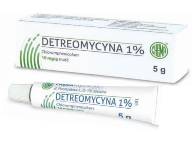 Detreomycyna 1% interakcje ulotka maść 0,01 g/g 5 g