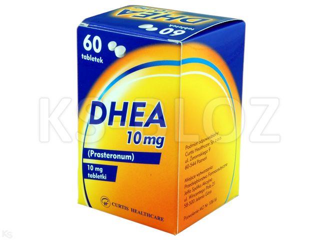 DHEA AFL (Biostym Balance) interakcje ulotka tabletki 0,01 g 60 tabl.