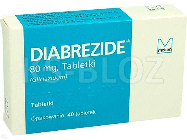 Diabrezide interakcje ulotka tabletki 0,08 g 40 tabl.