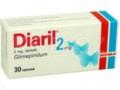 Diaril interakcje ulotka tabletki 2 mg 30 tabl.