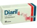Diaril interakcje ulotka tabletki 4 mg 30 tabl.