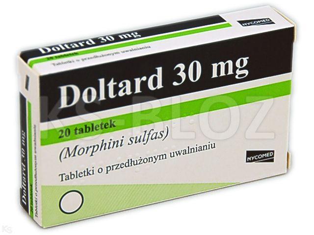 Doltard interakcje ulotka tabletki o przedłużonym uwalnianiu 0,03 g 20 tabl.