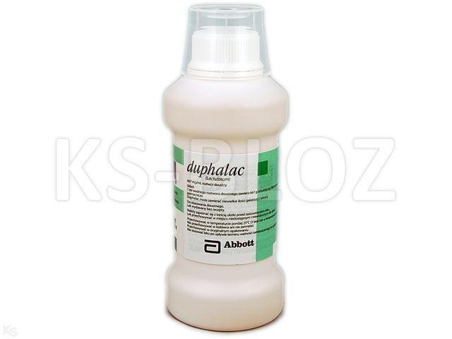 Duphalac interakcje ulotka roztwór doustny 0,667 g/ml 300 ml