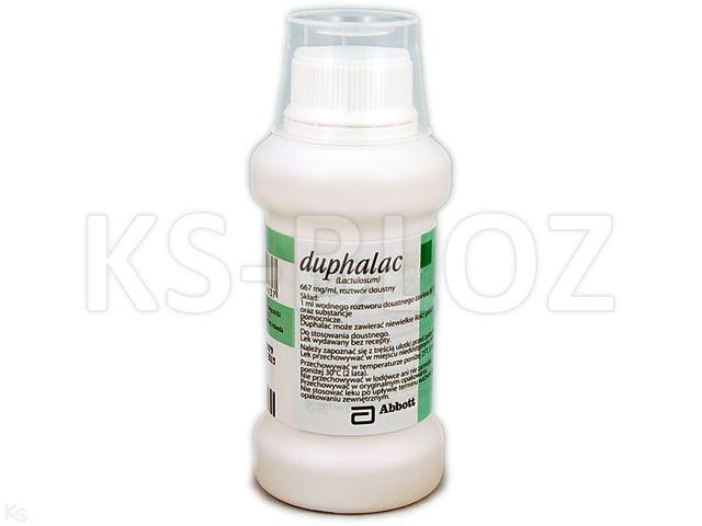 Duphalac interakcje ulotka roztwór doustny 0,667 g/ml 150 ml