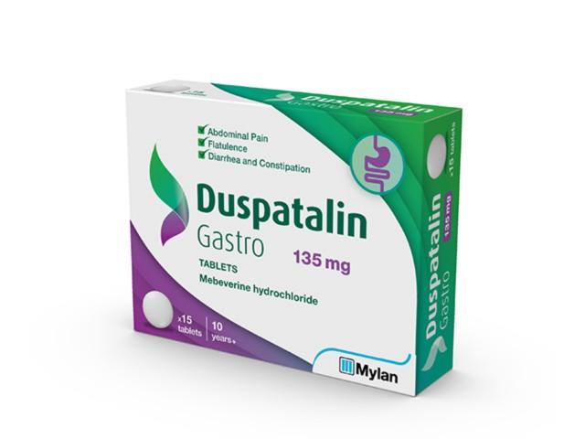 Duspatalin Gastro interakcje ulotka tabletki 0,135 g 15 tabl.