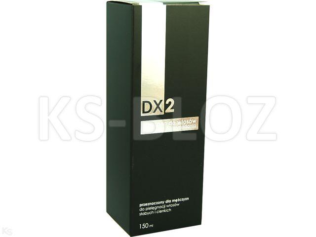 DX2 Szampon dla mężczyzn interakcje ulotka   150 ml