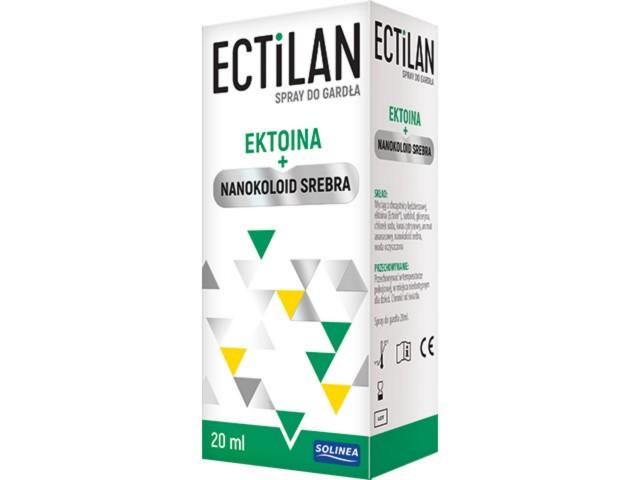 ECTILAN interakcje ulotka spray  20 ml   z rozpyl.
