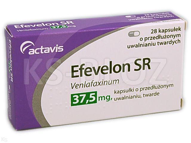 Efevelon SR interakcje ulotka kapsułki o przedłużonym uwalnianiu twarde 0,0375 g 28 kaps.