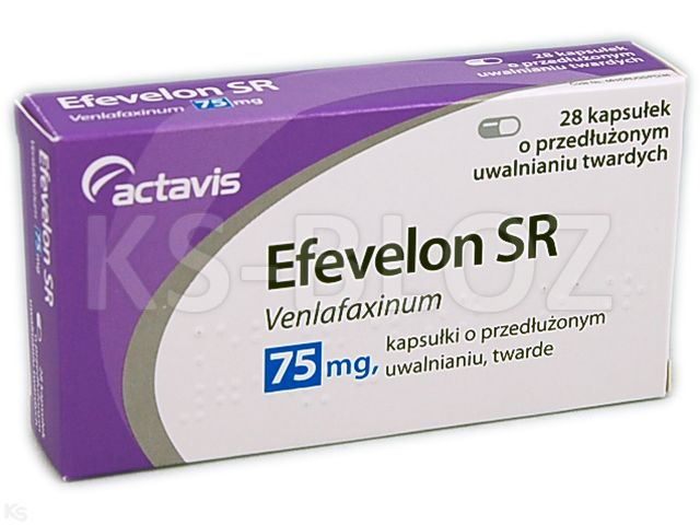 Efevelon SR interakcje ulotka kapsułki o przedłużonym uwalnianiu twarde 0,075 g 28 kaps.