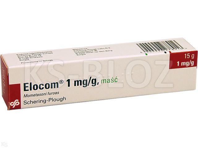 Elocom interakcje ulotka maść 1 mg/g 15 g