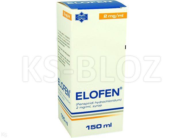 Elofen interakcje ulotka syrop 2 mg/ml 150 ml