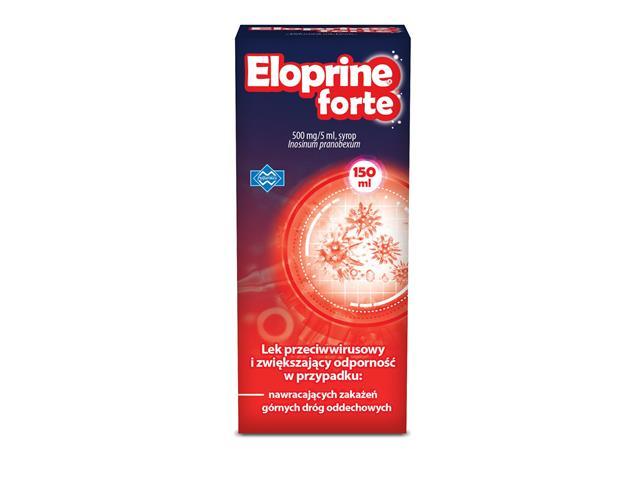 Eloprine Forte interakcje ulotka syrop 0,5 g/5ml 150 ml