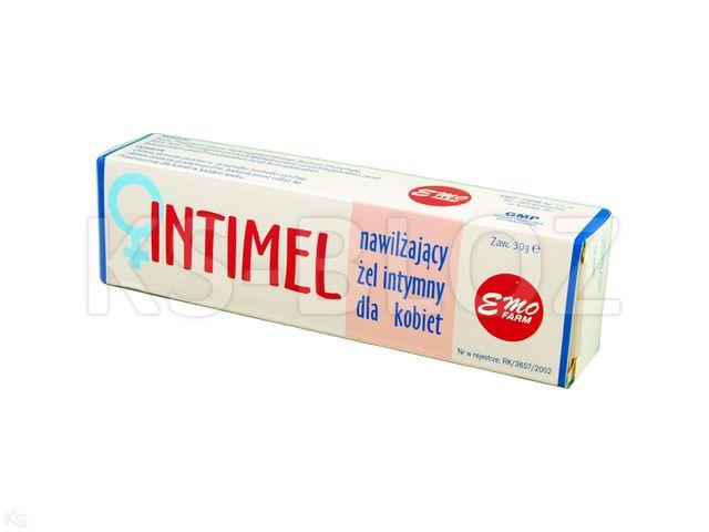 EMO INTIMEL Żel nawilż.intymny d/kobiet interakcje ulotka   30 g