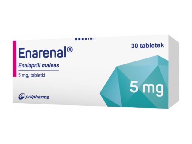 Enarenal interakcje ulotka tabletki 5 mg 30 tabl.