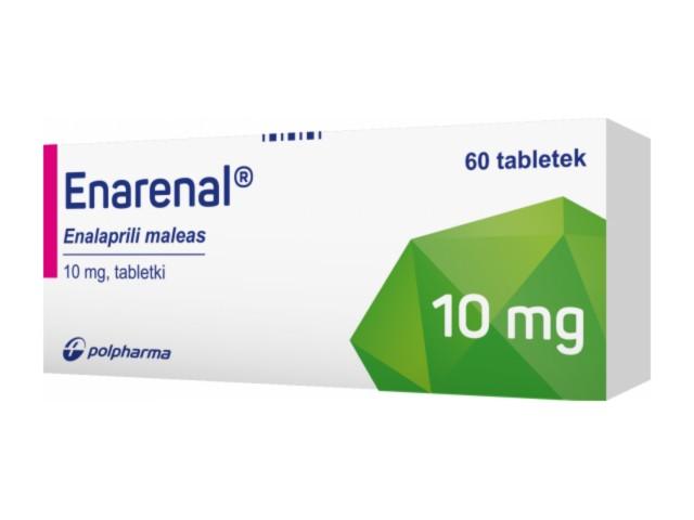 Enarenal interakcje ulotka tabletki 0,01 g 60 tabl.