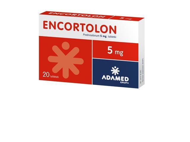 Encortolon interakcje ulotka tabletki 5 mg 20 tabl.