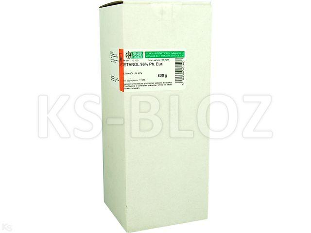 Ethanolum 96% (Rec.) interakcje ulotka płyn  800 g | butelka