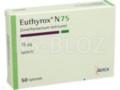 Euthyrox N 75 interakcje ulotka tabletki 0,075 mg 50 tabl.