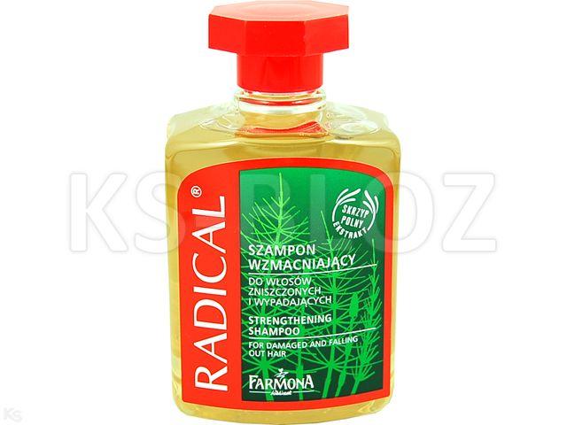 FARMONA RADICAL Szamp. Skrzyp polny interakcje ulotka   300 ml