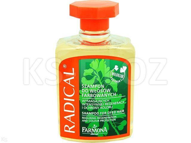 FARMONA RADICAL Szamp. wzmac.d/wł.farbow. interakcje ulotka   300 ml